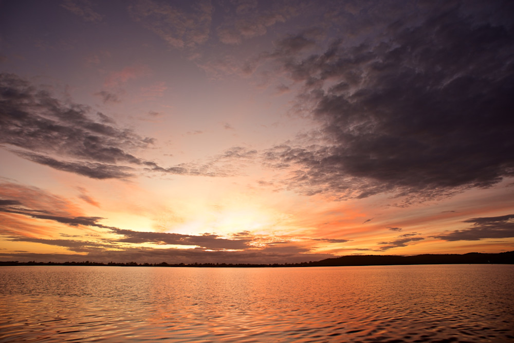Wangi Dawn View - Wangi Wangi Lake Macquarie NSW Australia | Sunrise