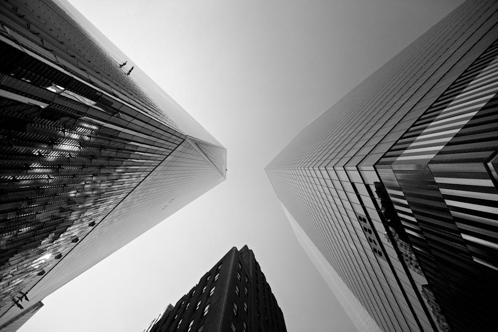 Trio Of Triangles - One World Trade Center Manhattan New York City NY USA | Cityscape