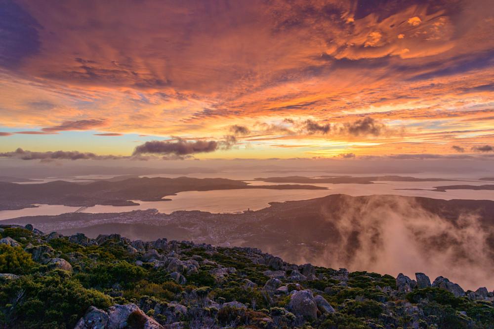 Sunrise - Mount Wellington Tasmania Australia | Sunrise
