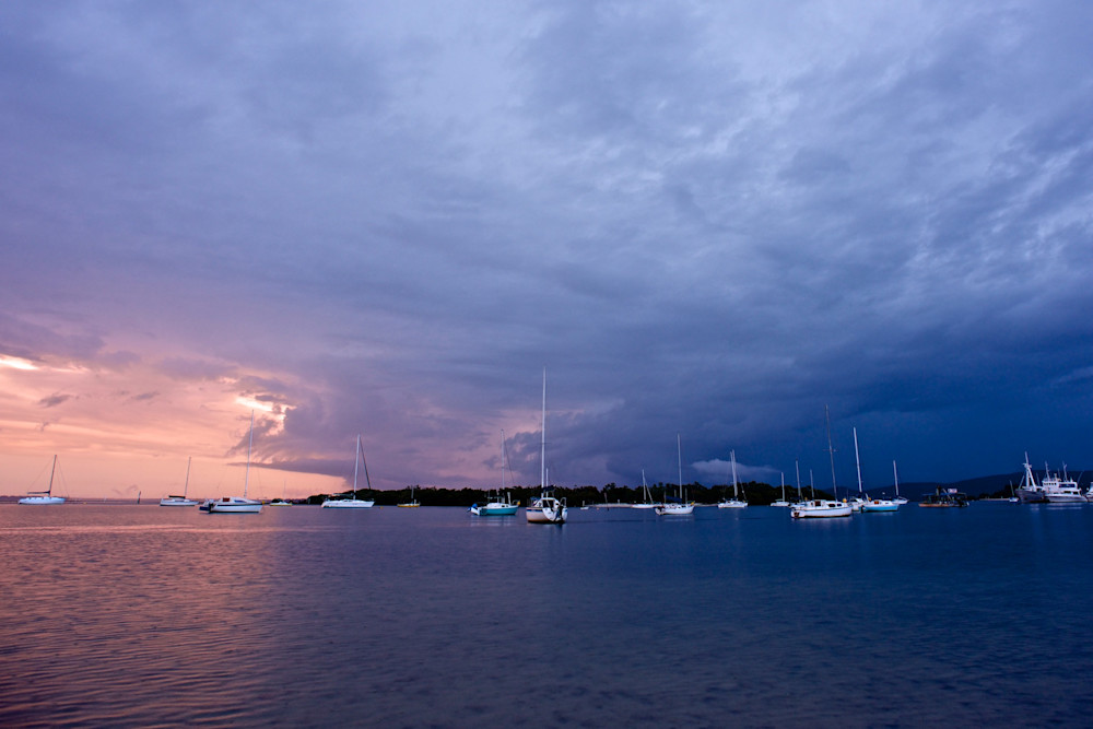 Storm On The Water - Soldiers Point Port Stephens NSW Australia