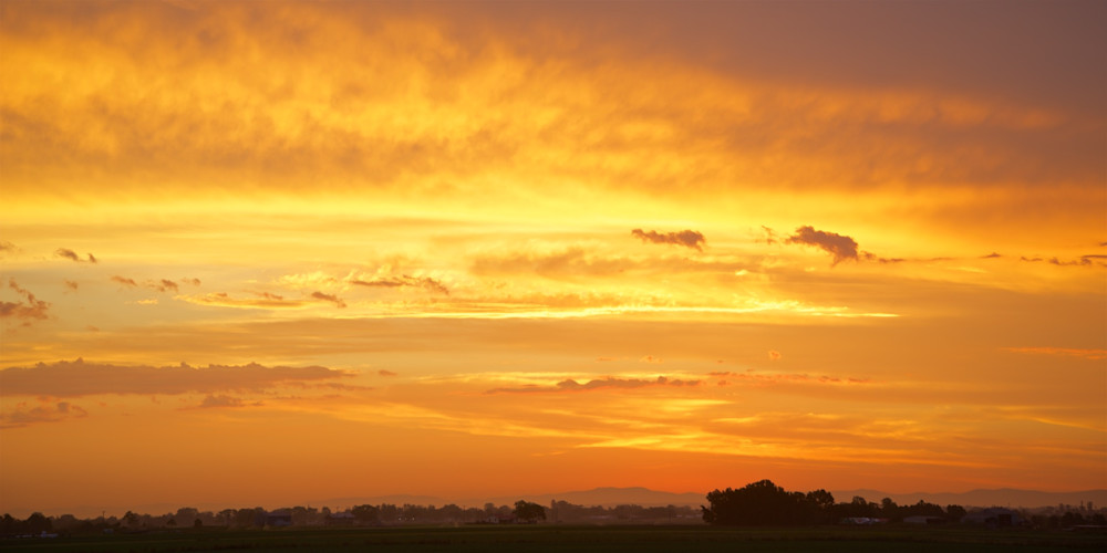 Sky On Fire - Hunter Valley Australia | Sunrise