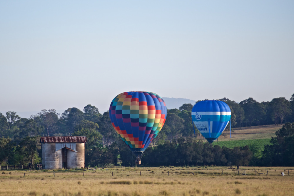 Rustic Flight - Pokolbin Hunter Valley Wine Country NSW Australia   Hot Air Balloon