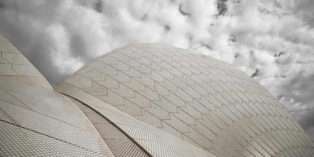 Sail Detail - Sydney Opera House NSW Australia