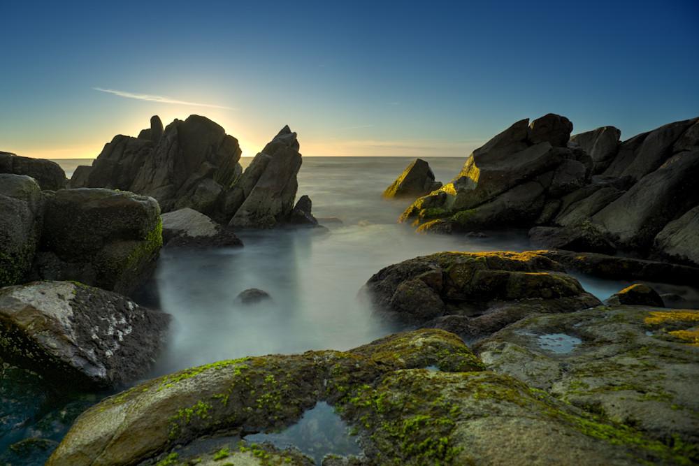 Rocky Start To The Morning - Zenith Beach Port Stephens NSW Australia   Sunrise