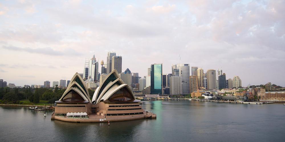 Quays Morning - Circular Quay Opera House Sydney Harbour NSW Australia | Sunrise