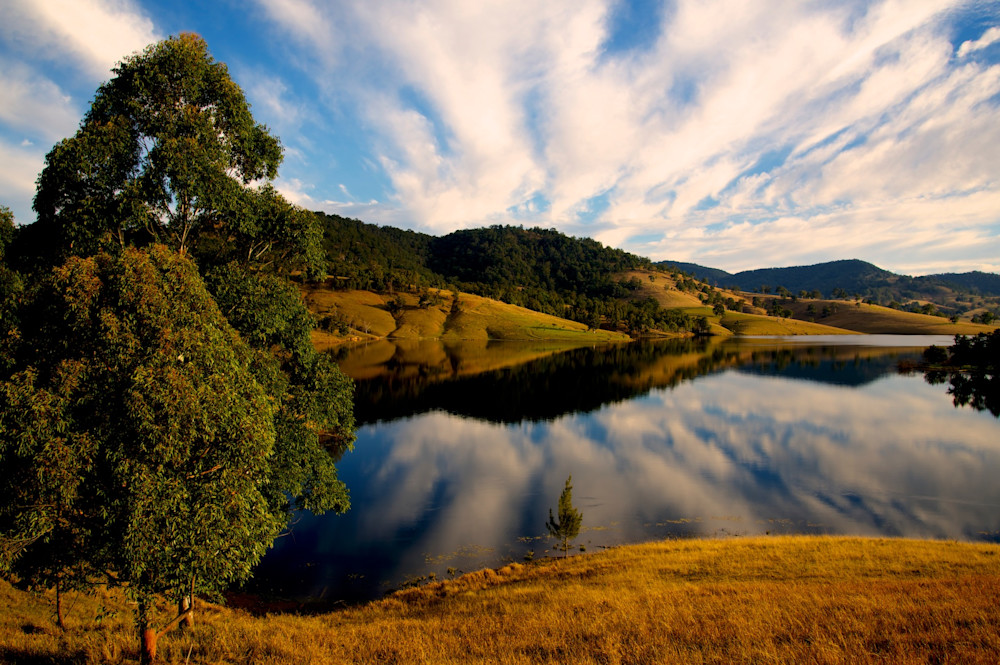 Reflections On Lostock - Dam Hunter Valley Paterson NSW Australia   Limited Edition