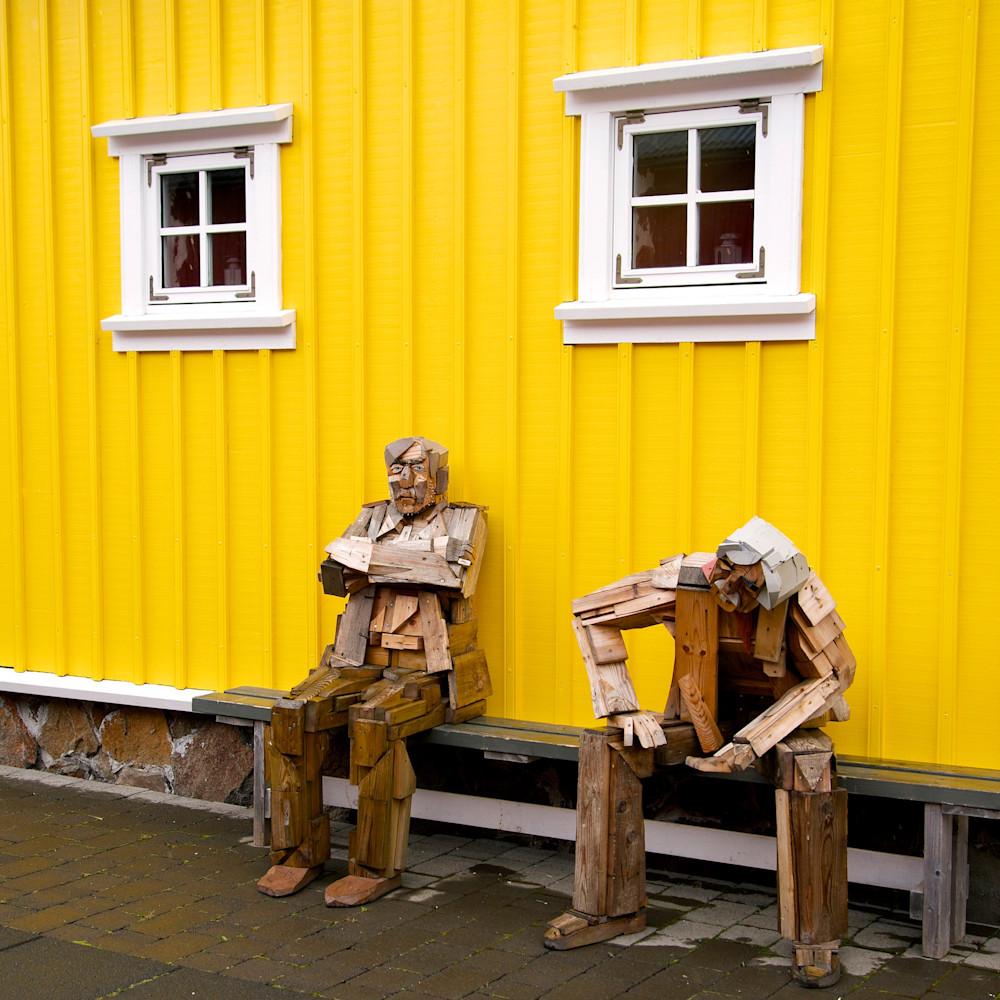 Old Souls - Siglufjordur Iceland   Sculpture
