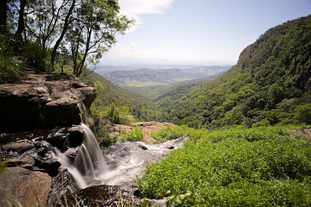 Morans Vista - Morans Falls Waterfall Lamington National Park Qld Australia | Waterfall