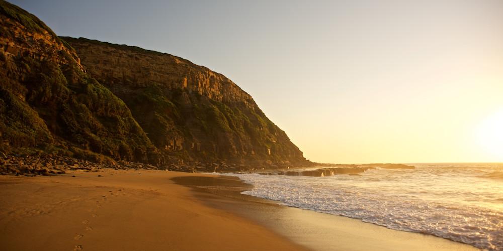 Gilmores Morning - Susan Gilmore Beach (Bar Beach) Newcastle NSW Australia