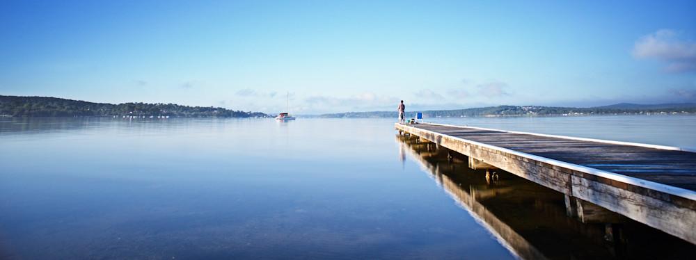Fishing Jetty - Warners Bay Lake Macquarie NSW Australia