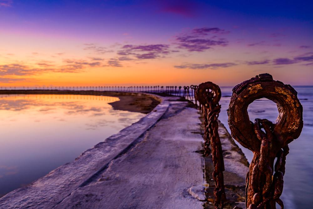 Eye Of Newy - Canoe Pool Newcastle Ocean Baths NSW Australia | Sunrise