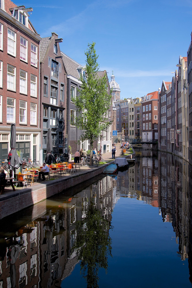 Canal Houses - Amsterdam Holland The Netherlands