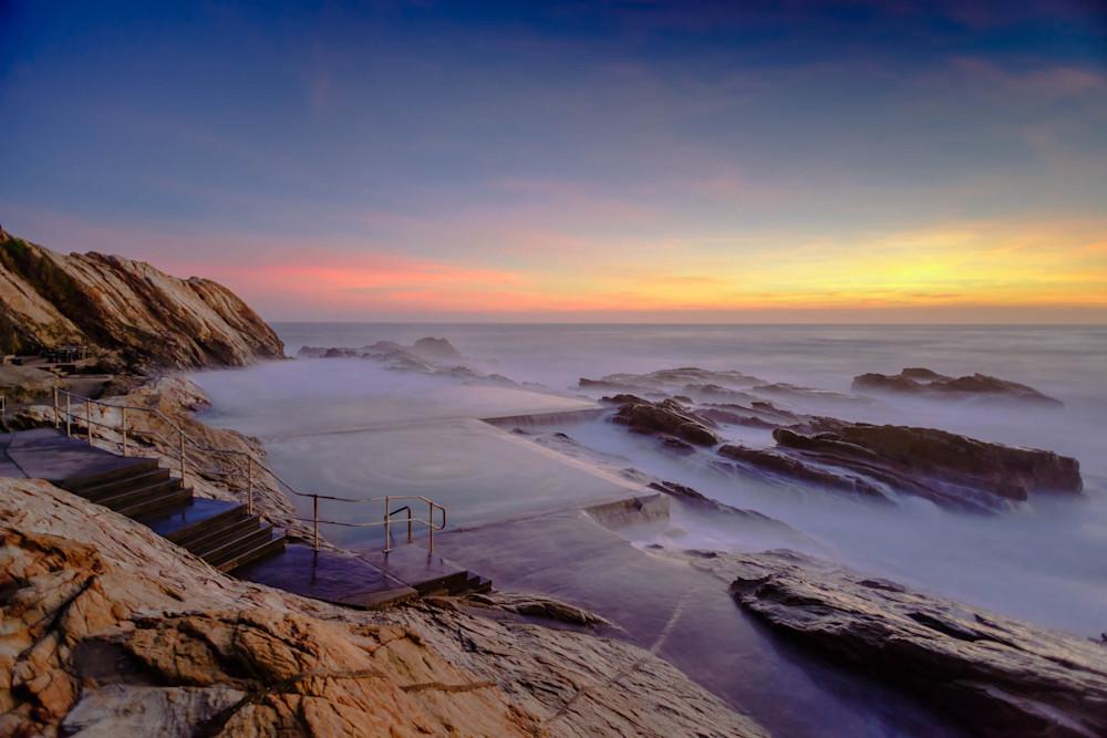 Blue Pool Sunrise - Bermagui NSW Australia   Sunrise