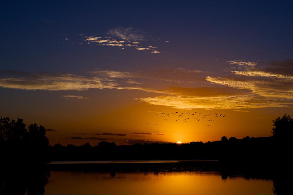 Birds Eye View - Hunter Valley Australia | Sunset Limited Edition