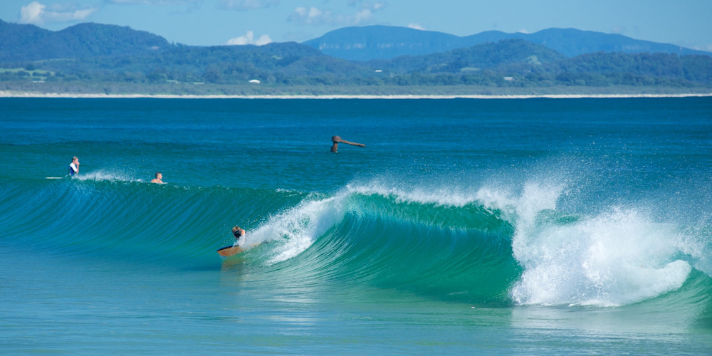 Aqua At The Wreck - Byron Bay Australia | Surf
