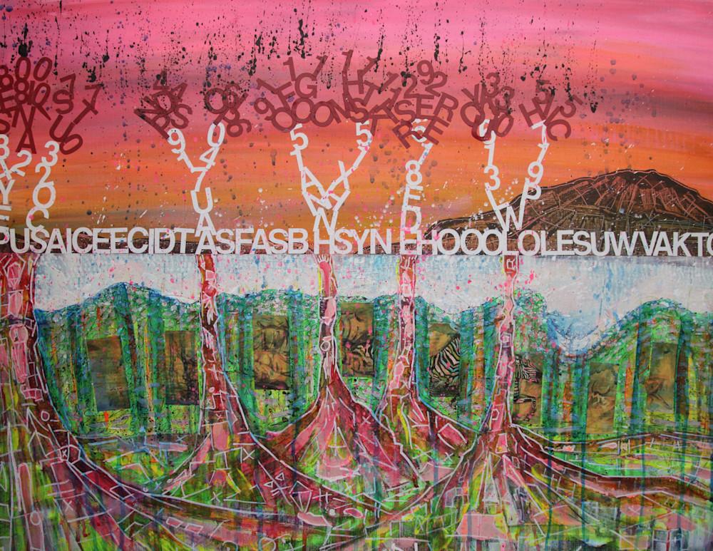 Zebra Wave  Art | simon campbell