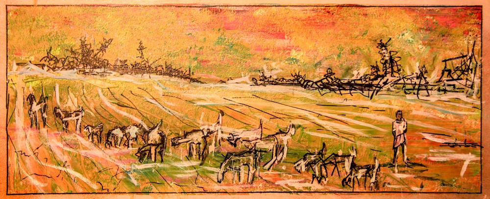 Wolves On The Horizon Art | simon campbell