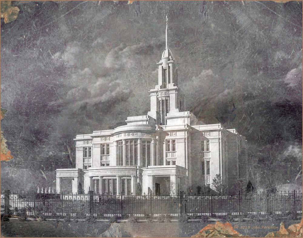 Payson Temple Daguerreotype
