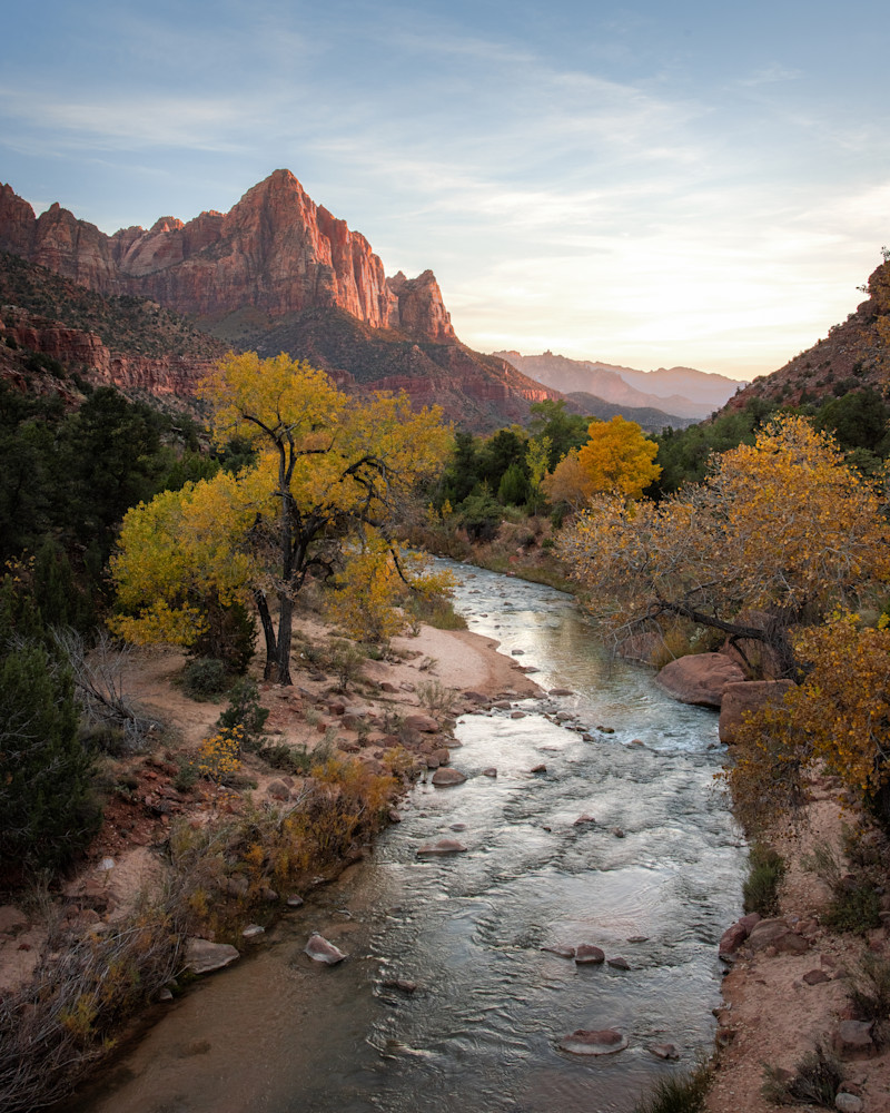 The Watchman Sunset