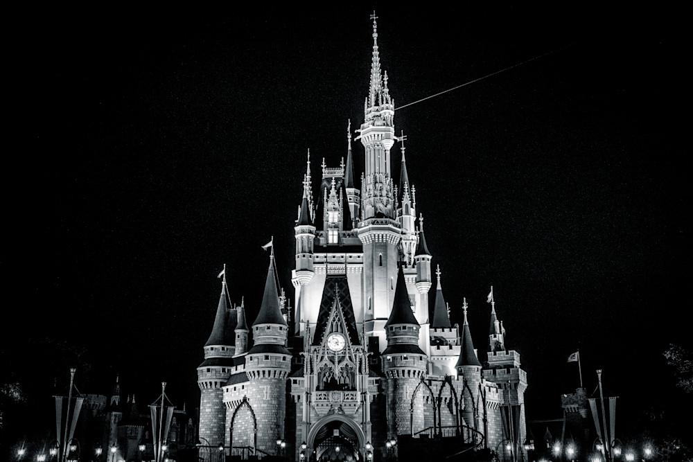 Cinderella Black and White - Disney Art | William Drew