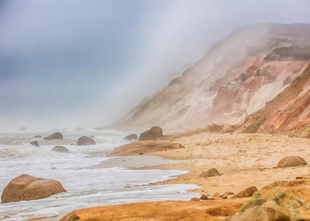 Gay Head Cliffs Fog