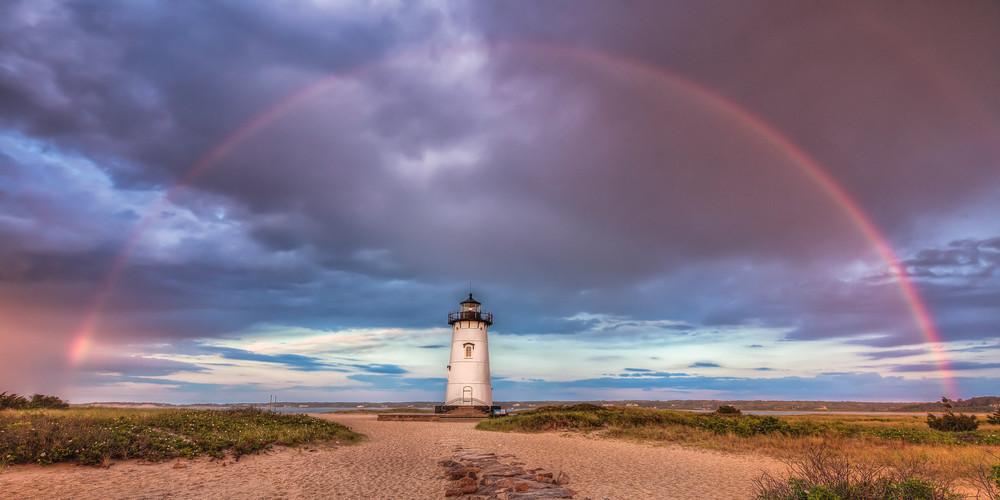Edgartown Light Rainbow