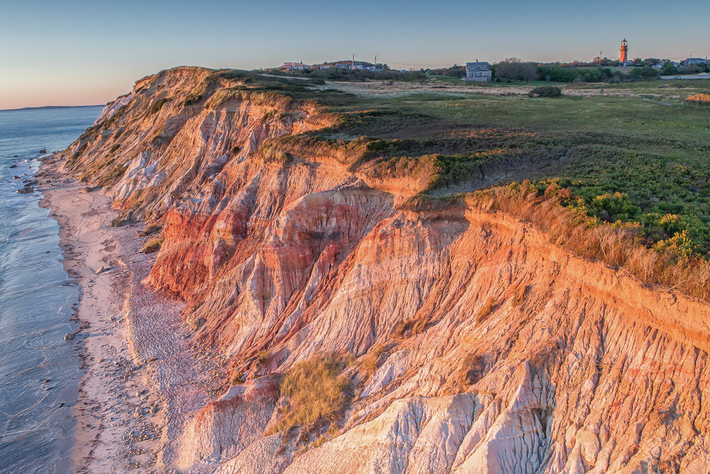 Gay Head Cliffs From Above
