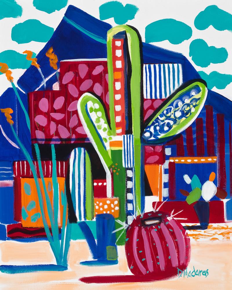 Saguaro Matisse by Diana Madaras