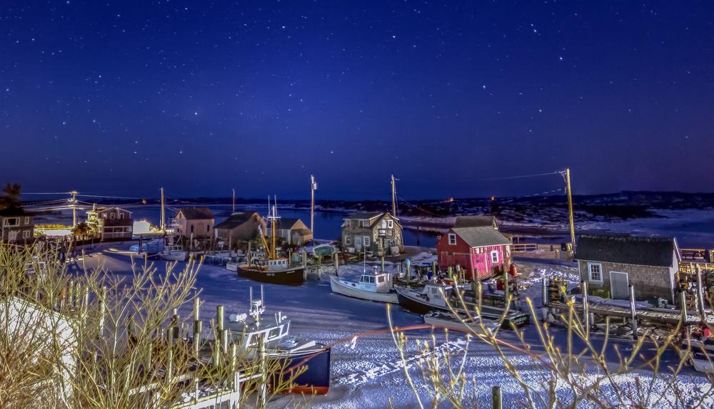 Menemsha Starry Winter Night
