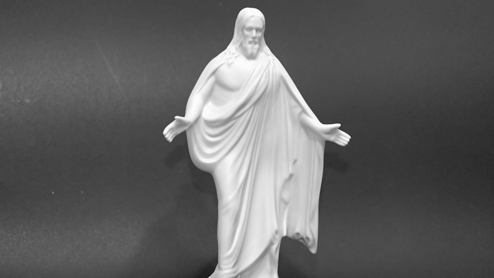 Black And White Jesus2 Photography Art   Drone Video TX