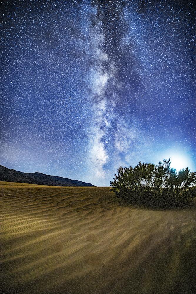 Milky Way Over the Dunes