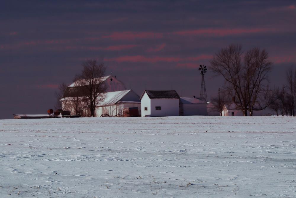 Winter Twilite Photography Art   Dale Yakaites Photography