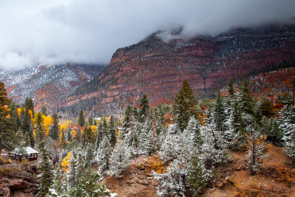Forecast Snow Photography Art | Dale Yakaites Photography