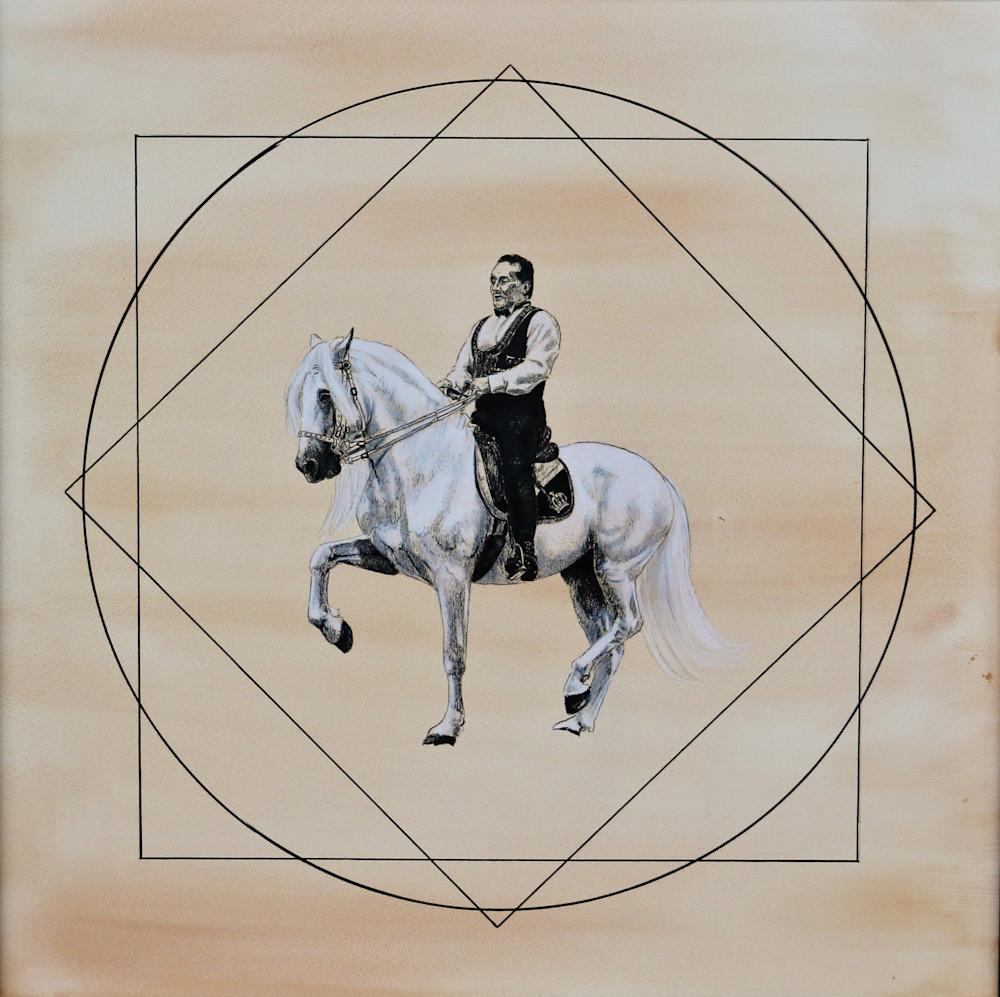 Royal Horses Piaffe Art | Lauren Herr Fine Art