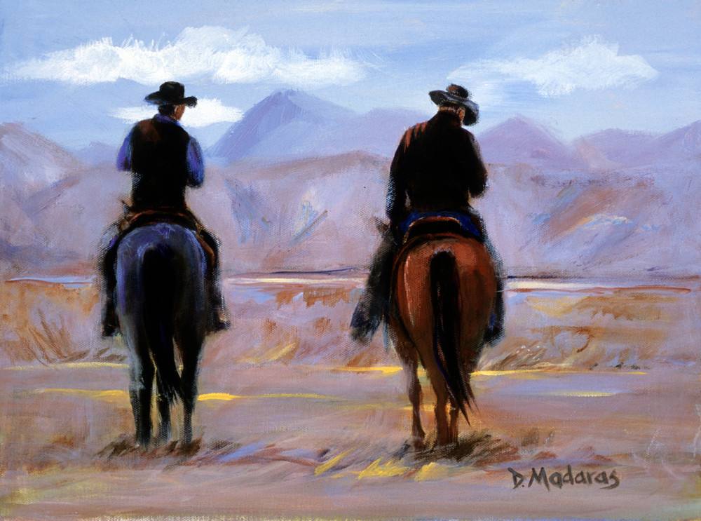 Day's End at Empire Ranch | Southwest Art Gallery Tucson