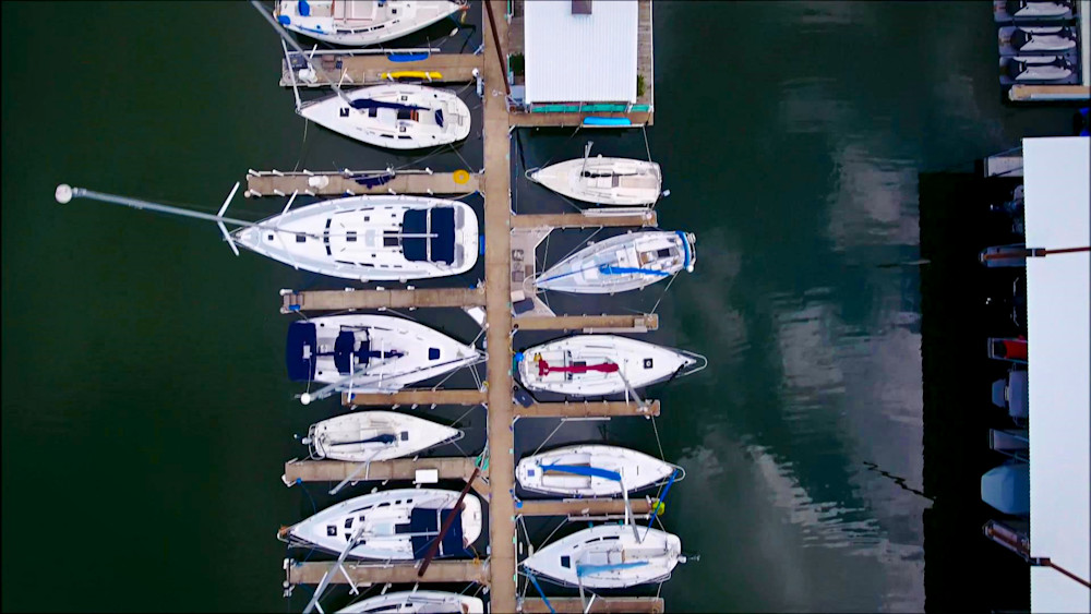 Birds Eye Of Boats2 Photography Art | Drone Video TX
