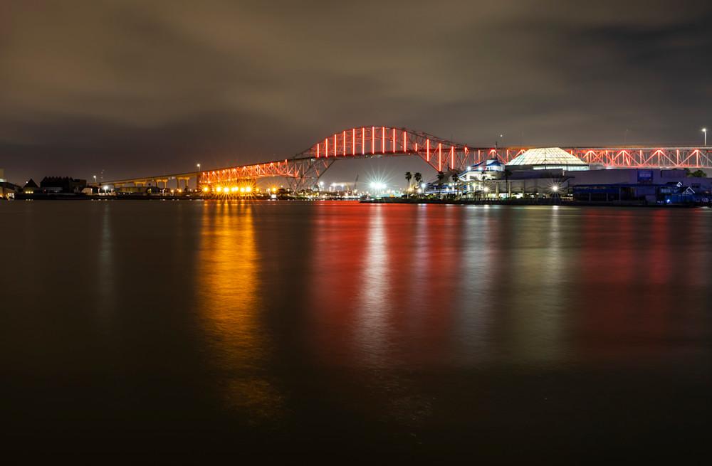Corpus Christi Harbor Bridge Photography Art | Photos by Angie B