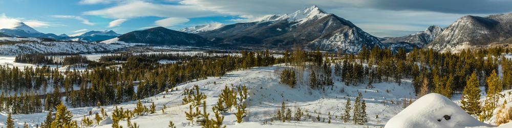 Ten Mile Range & Lake Dillon near Town of Frisco, Summit County,Colorado
