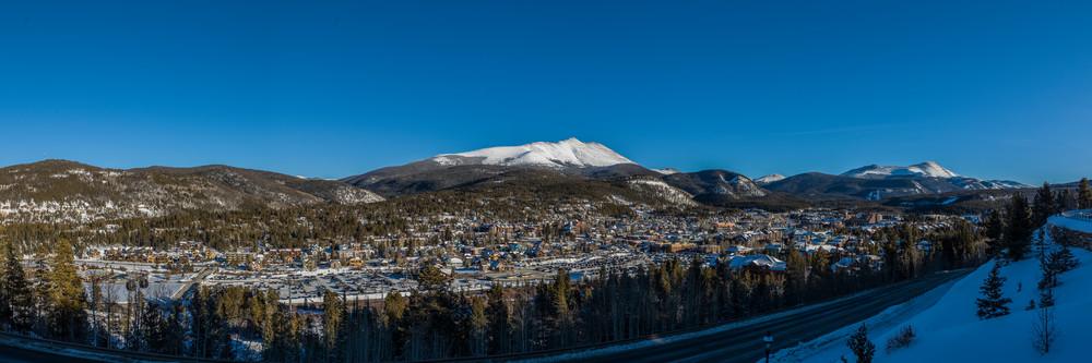 Town of Breckenridge & Bald Mountain, Colorado