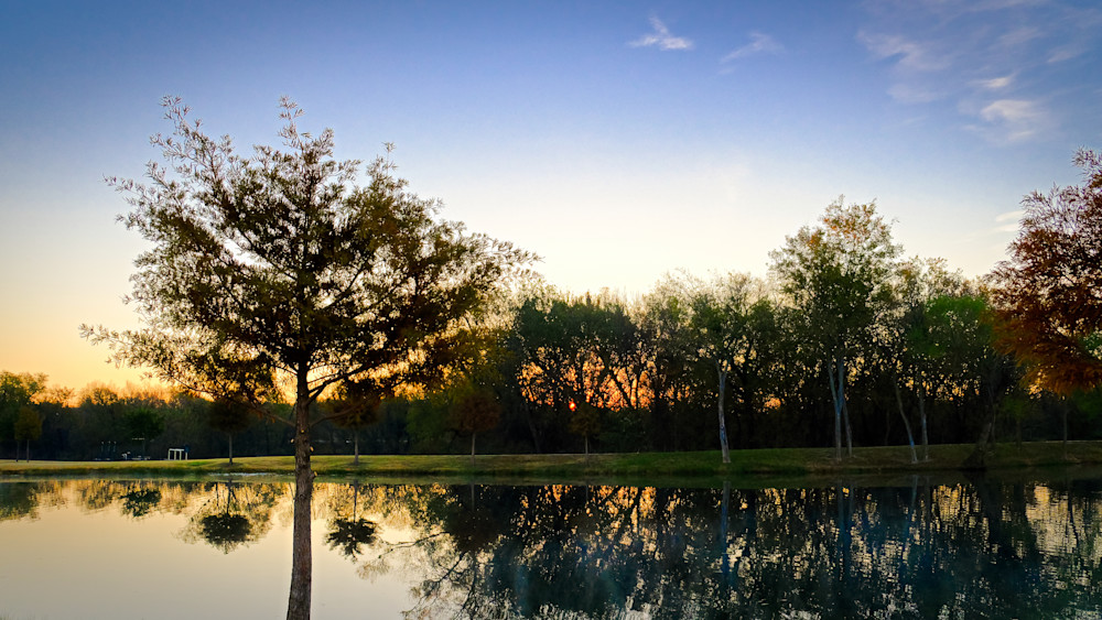 Sunrise Over Roanoke 6 Photography Art | Drone Video TX