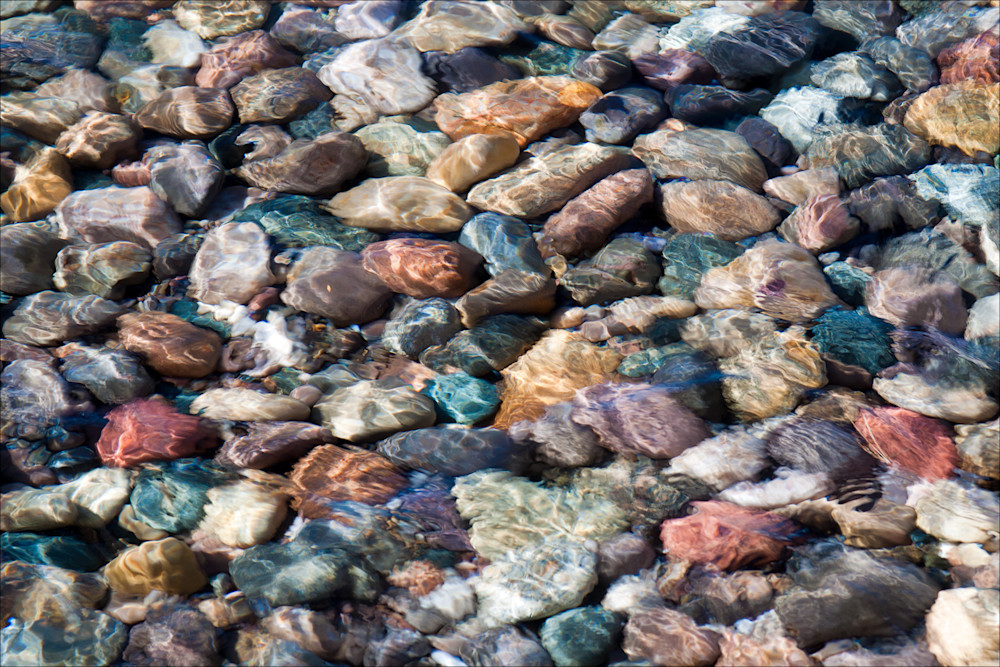 Stones in Shallow Water