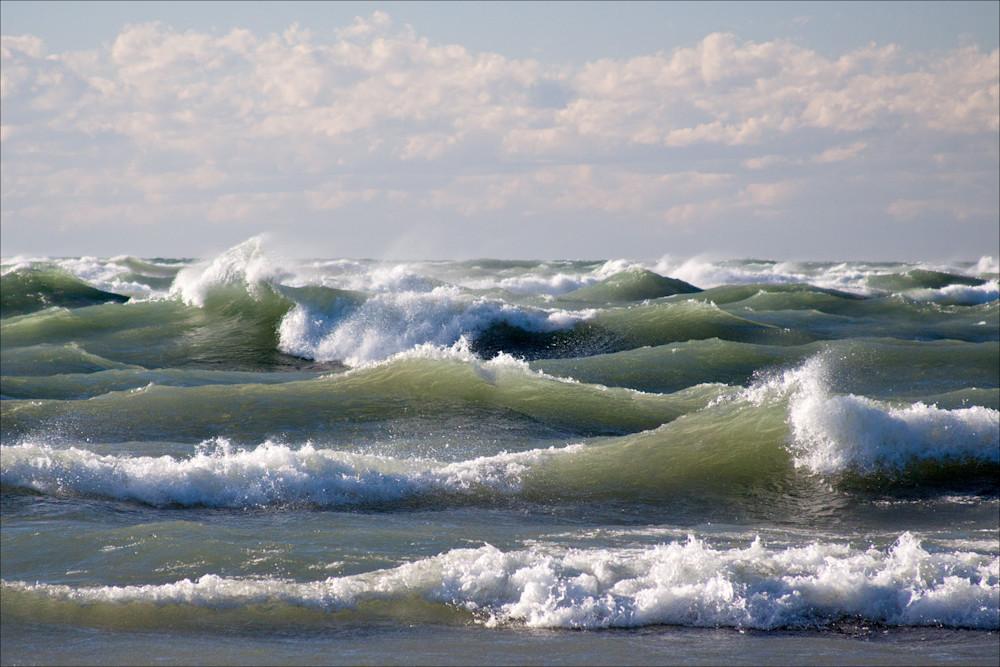 Lake Michigan Gale