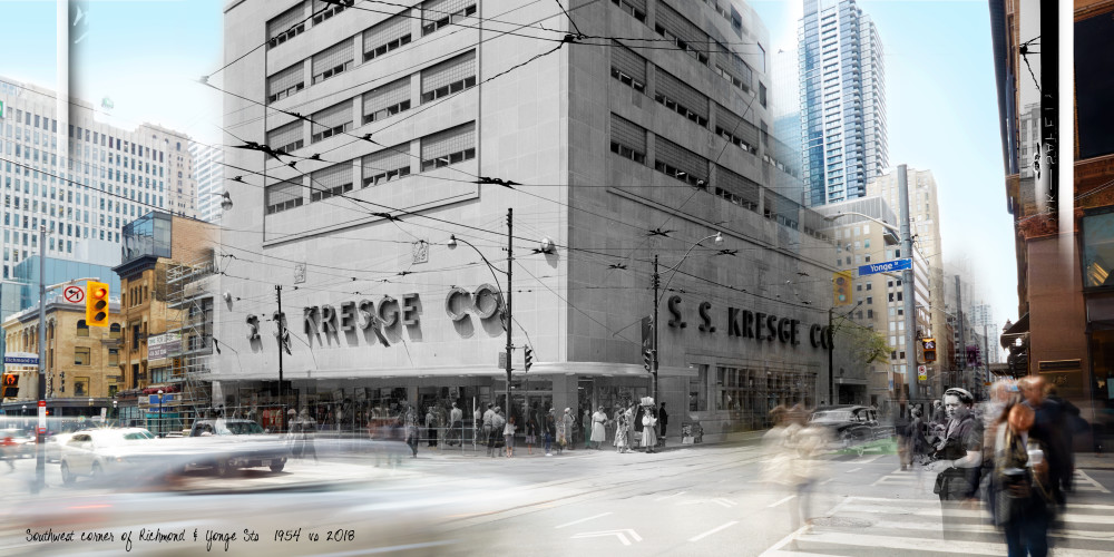 Past Present - Southwest Yonge & Richmond