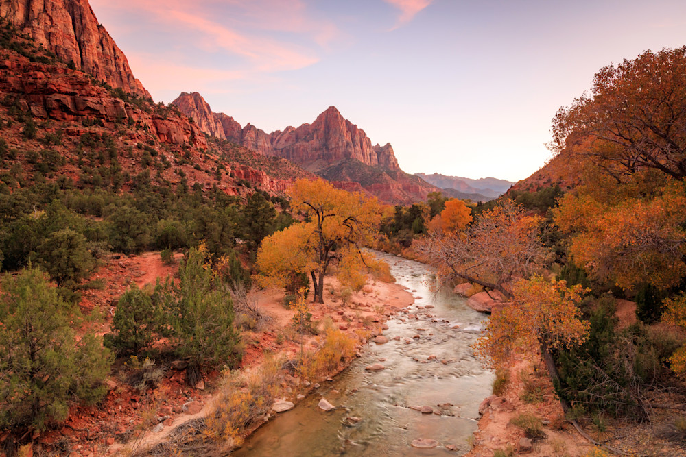 ZIon River Sunset