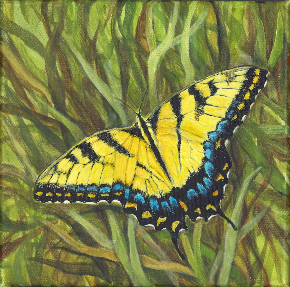Yellow Swallowtail Art | Lori Vogel Studio