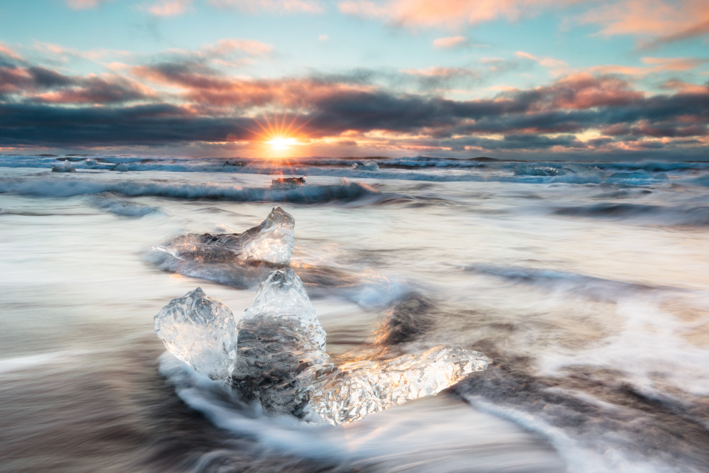 Ocean Sunrise Wall Art Prints | Robbie George