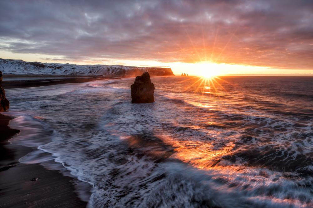 Iceland Ocean Wall Art | Robbie George