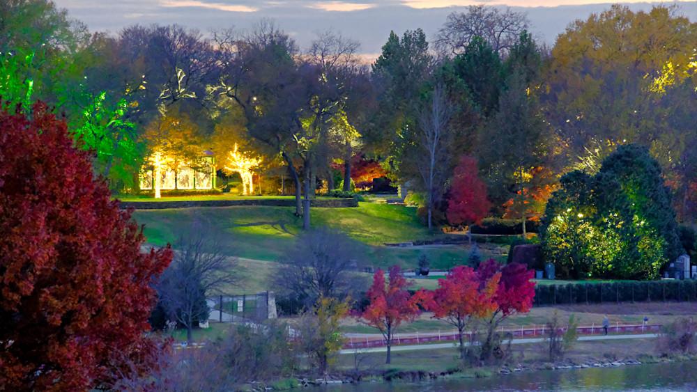 Autumn Dusk 1 Photography Art | Drone Video TX