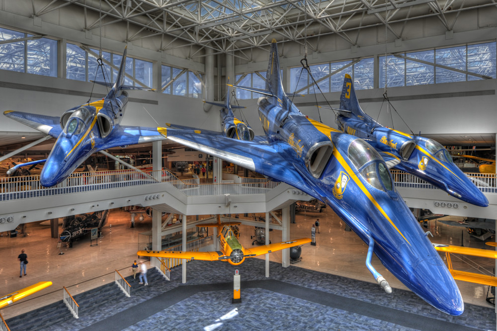 Blue Angels A-4 Skyhawks III