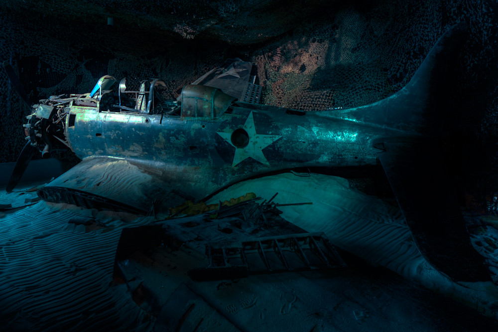 Sunken Douglas SBD Dauntless I